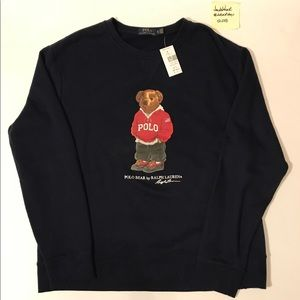 Polo Bear Sweatshirt Men's Size XL